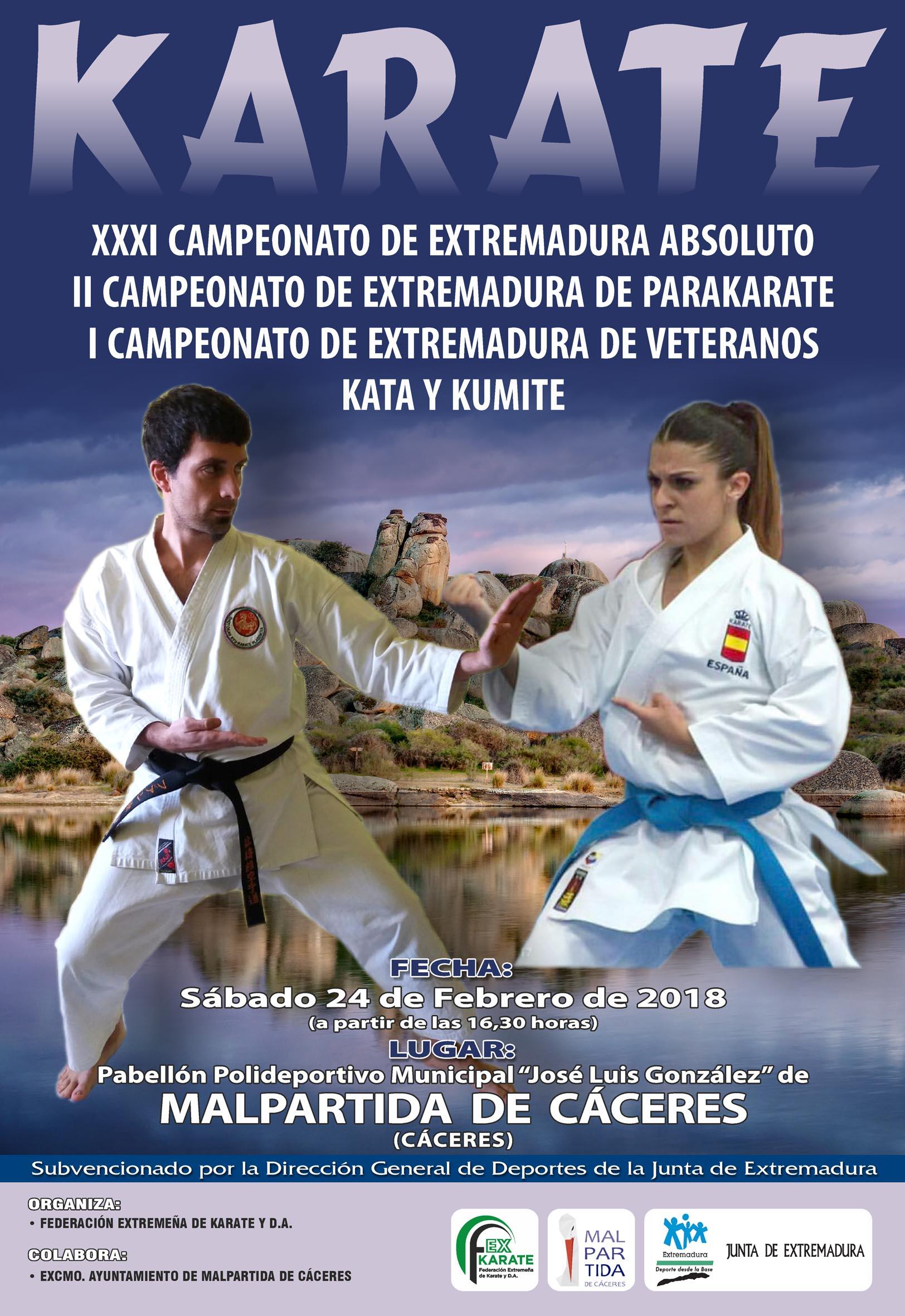 Campeonato de Extremadura Senior-ParaKarate 2018