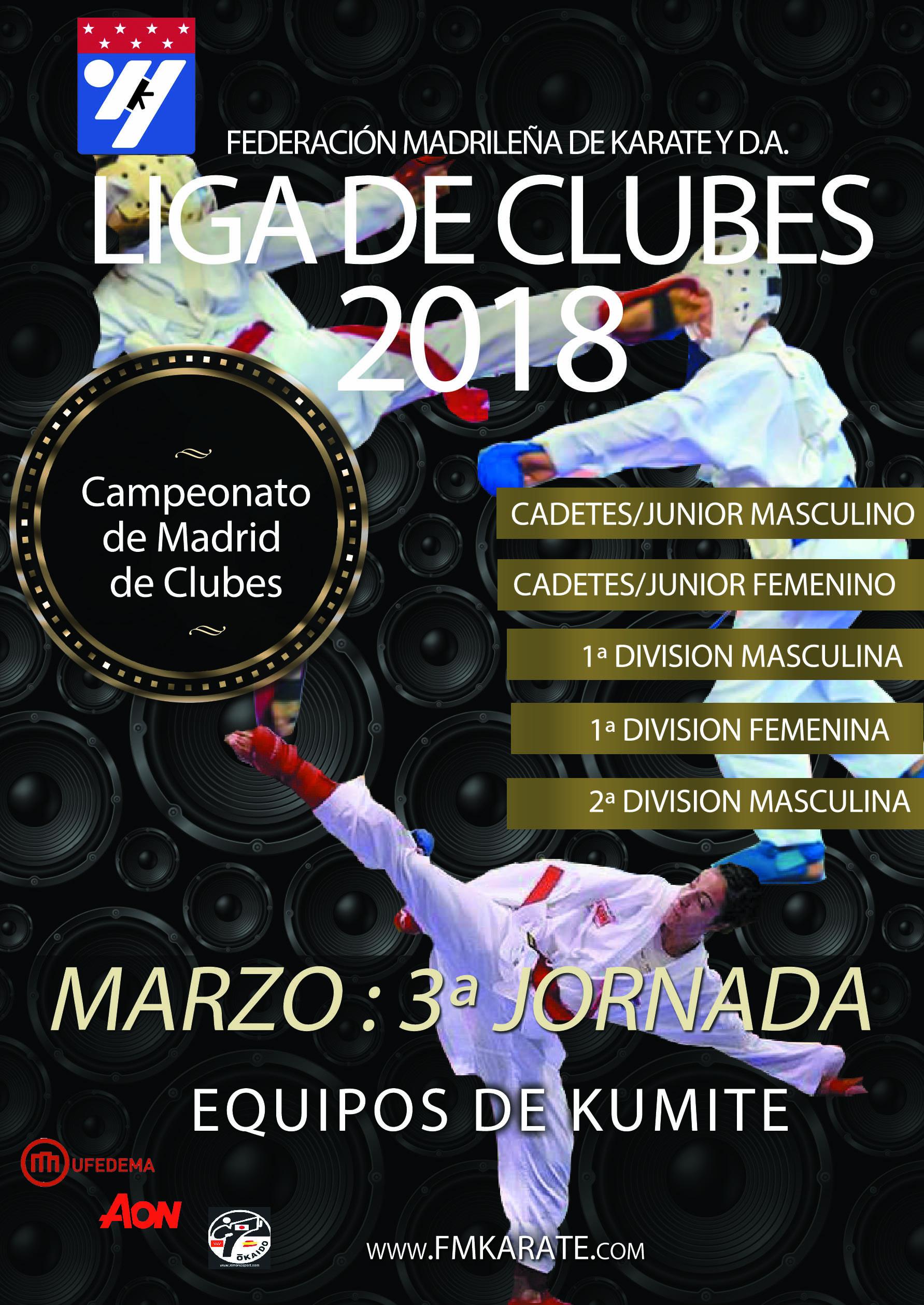 Liga de Clubes de Madrid 2018