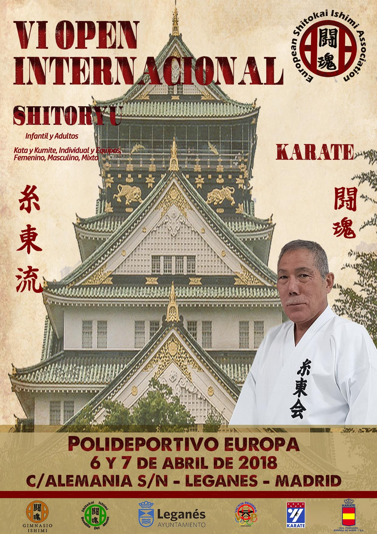 VI OPEN INTERNACIONAL DE KARATE SHITORYU 2018