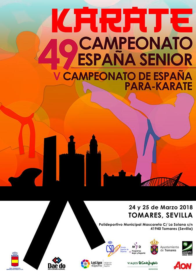Campeonato de España Sénior y ParaKarate 2018