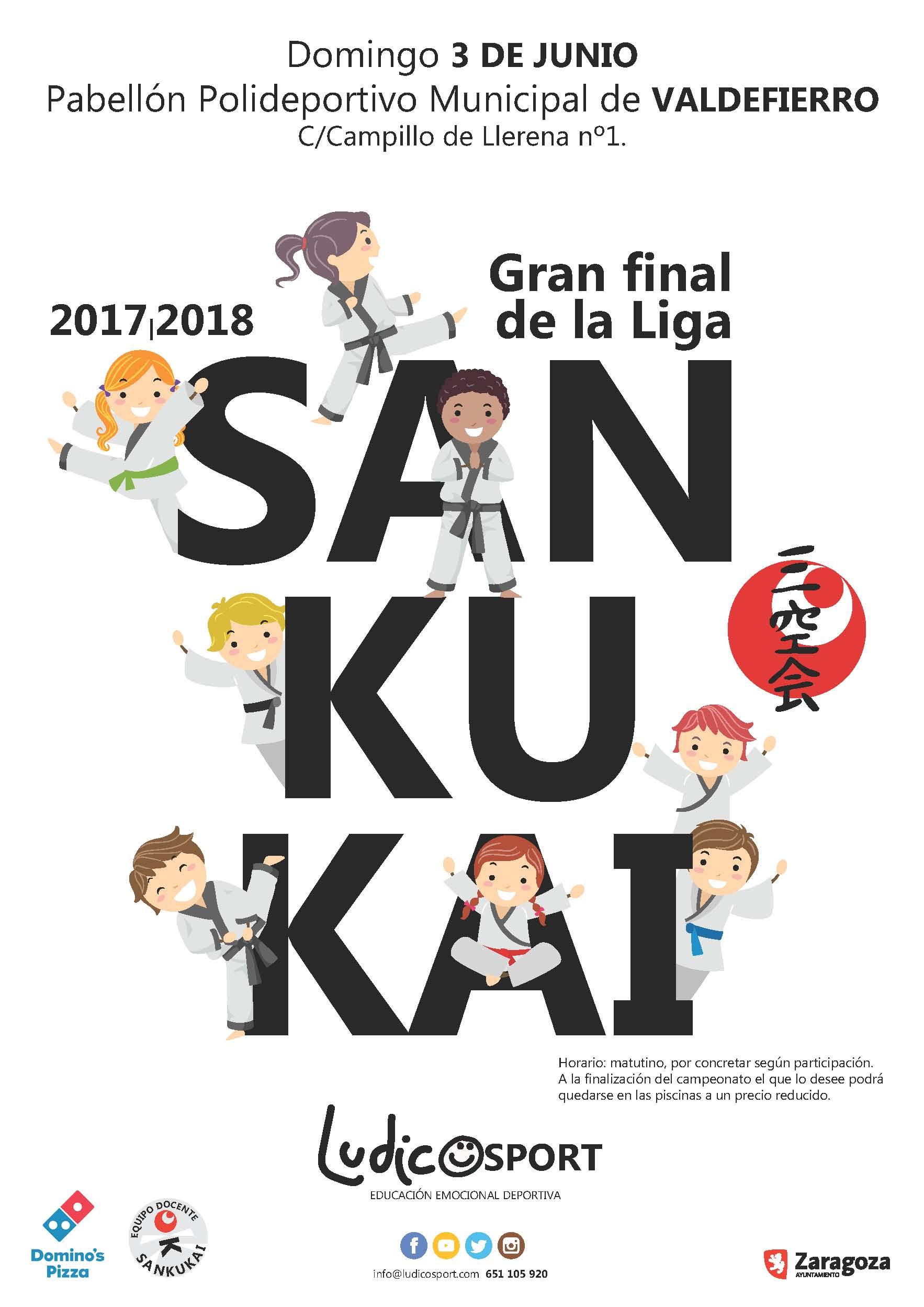 Final Liga de Kata Sankukai 2017-2018