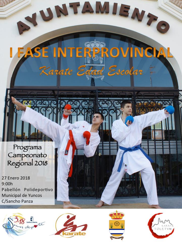 Interprovincial Escolar Fase 1 - 2018