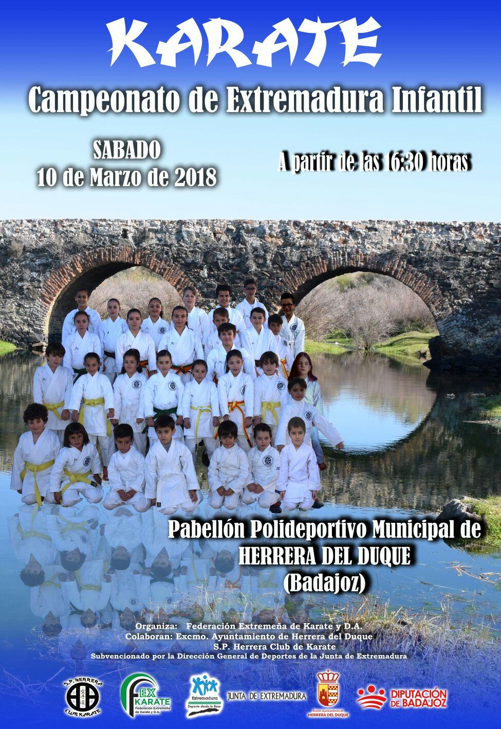 Campeonato de Extremadura Infantil 2018
