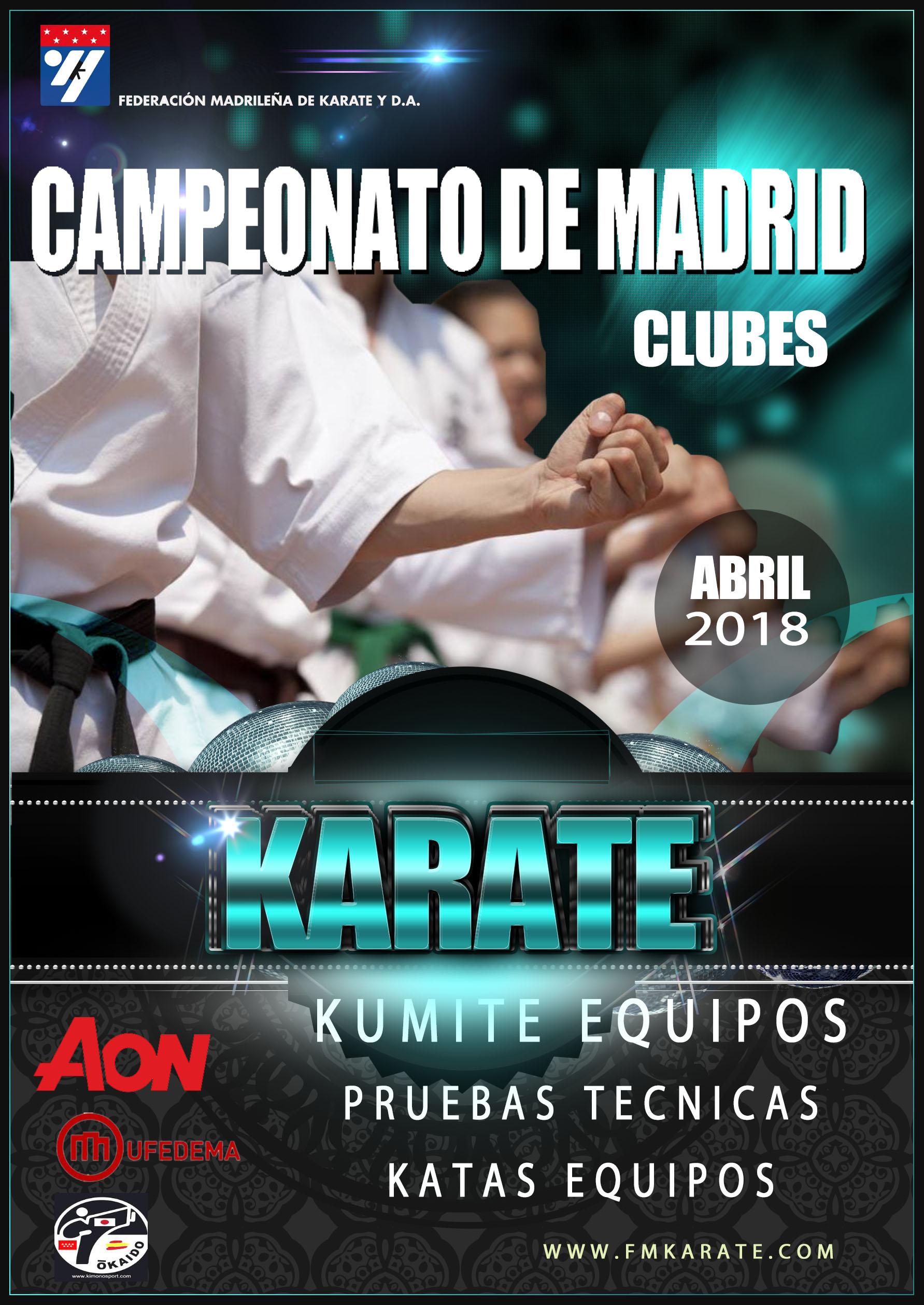 Campeonato de Madrid - Clubes 2018